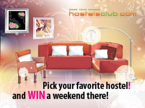 choisissez votre auberge moderne hostelsclub pr f r e. Black Bedroom Furniture Sets. Home Design Ideas