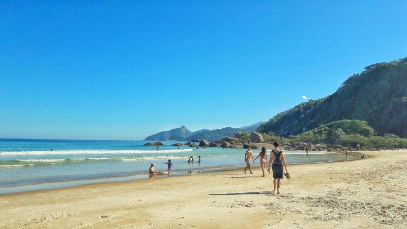 La spiaggia di Lopes Mendes