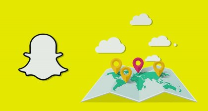 Snap Map Travel