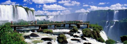 Waterfalls of Iguaçu - Brazilian side