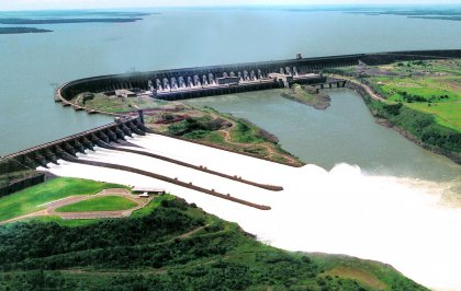 Dam of Itaipu