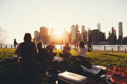 Une vue de New York
