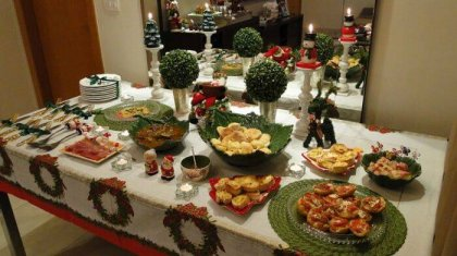Portuguese Christmas table