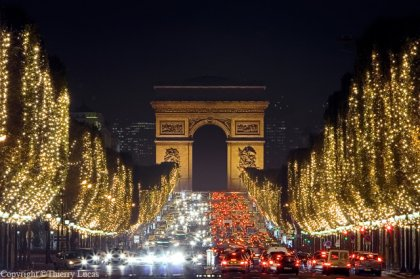 Christmas Market Champs Elysees