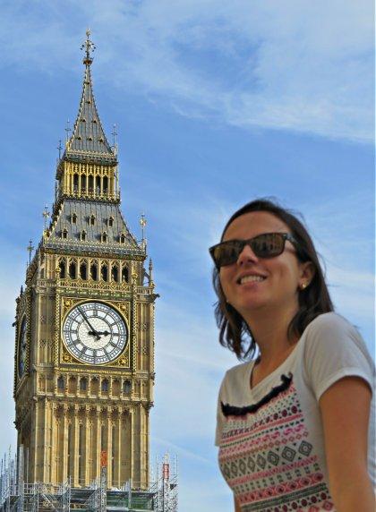 Lidiane em Londres