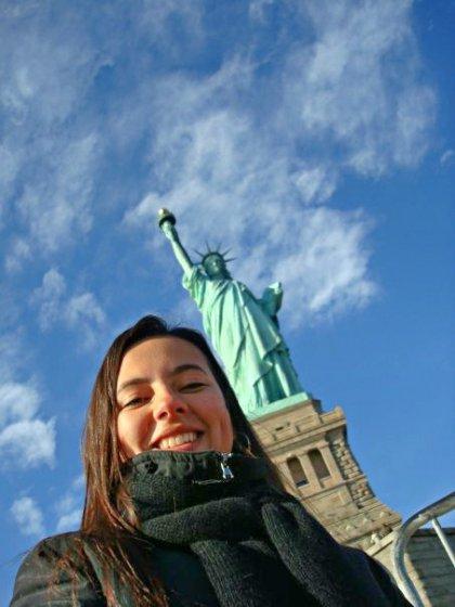Lidiane em NYC