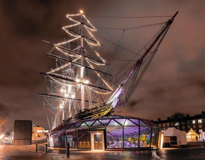 The Cutty Sark in Greenwich