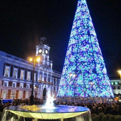 Puerta del Sol est la pièce maîtresse pour le réveillon du Nouvel An à Madrid