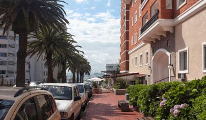 Une des plus belles avenues de Punta del Este