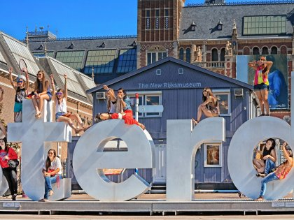 Take a trip to Amsterdam with your best friends