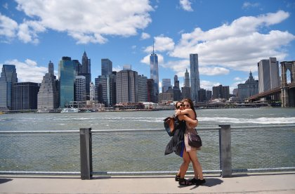New York City is a dream travel destination for you and your best friend