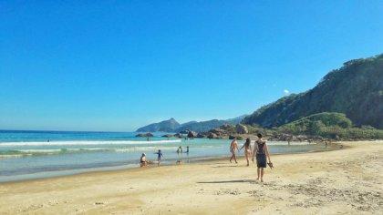 La plage de Lopes Mendes