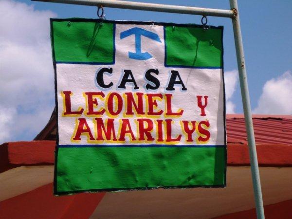 Casa Leonel y Amarilis