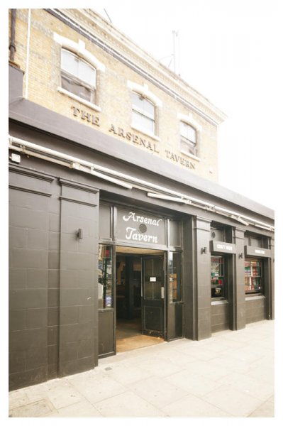 Arsenal Tavern Backpacker