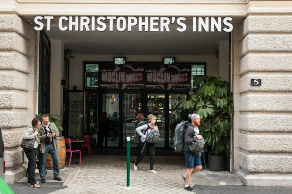St Christopher's Inn Gare du Nord