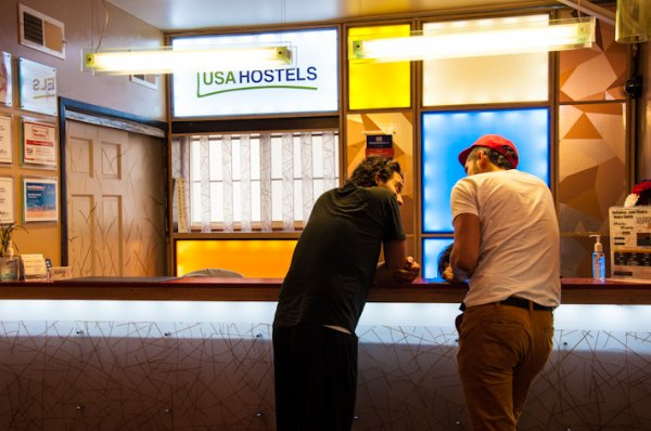 Hostal USA s Hollywood