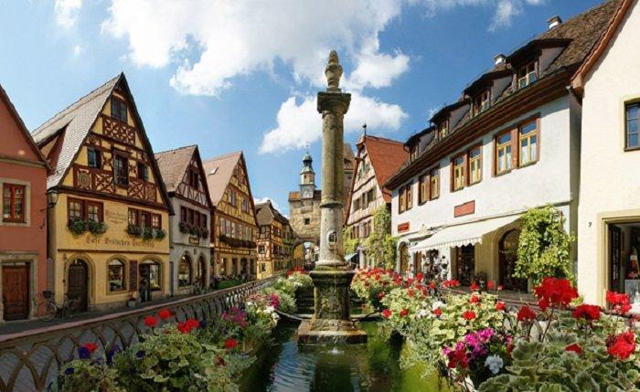 The Romantic Road In Germany HostelsClubcom - Germany map romantic road