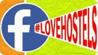 Segui #LOVEHOSTELS su Facebook