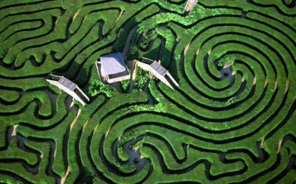 Filepict Hedge Maze Longleat House Town