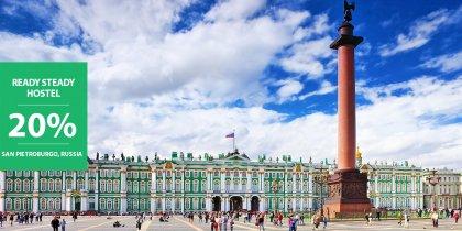 20% di sconto a San Pietroburgo in Russia