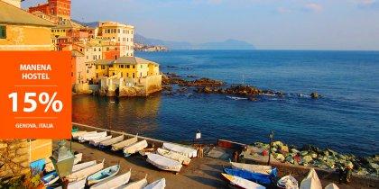 15% di sconto a Genova