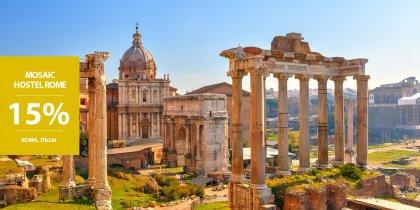 15% di sconto a Roma