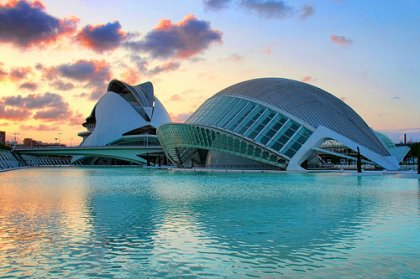 Die Stadt der Künste und Wissenschaften, Valencia (big)