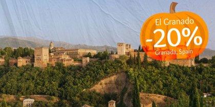 20% discount in Granada