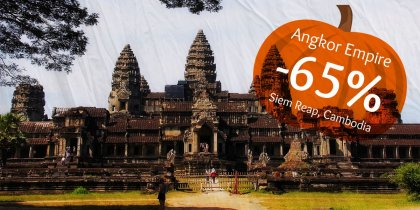 65% discount in Siem Reap