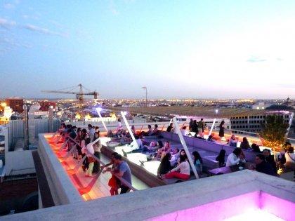The Roof of Circulo de bellas Artes