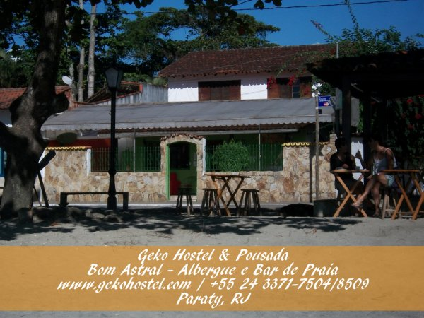 Geko Hostel and Pousada Paraty