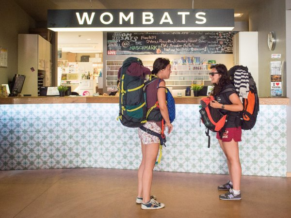 Wombat's CITY Hostels Vienna – the NASCHMARKT