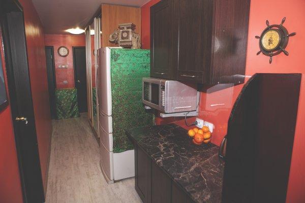 Yin-Yang mini-hotel on Bashidze