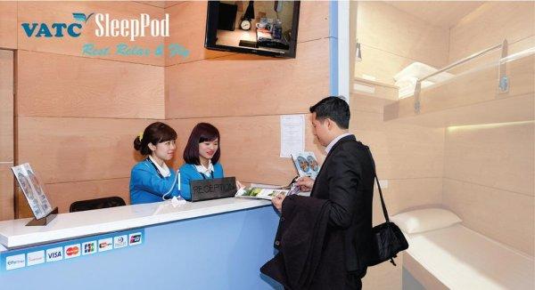 VATC SleepPod Terminal 2