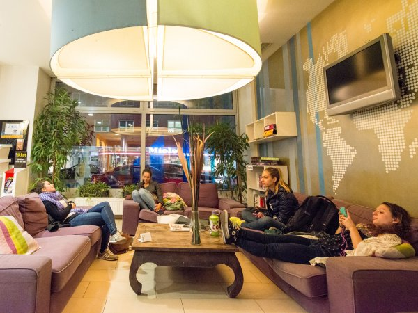wombat's CITY Hostels Vienna – the LOUNGE